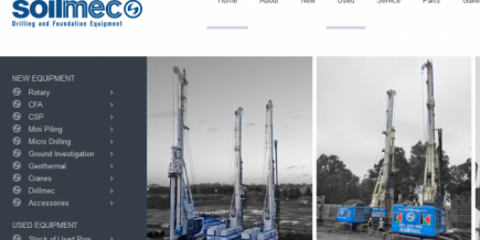 New Soilmec homepage