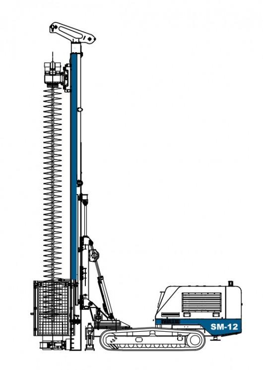Soilmec SM-12 Mini Piling Rig