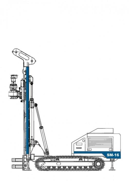 Soilmec SM-16 Mini Piling Rig