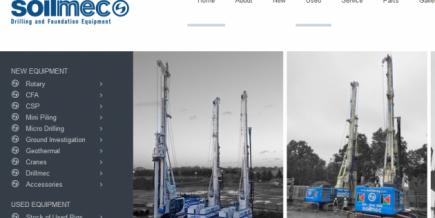 New Soilmec homepage