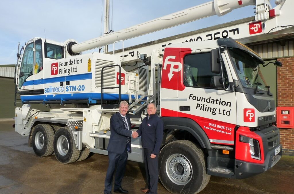 Foundation Piling Collect the First STM-20 in the UK