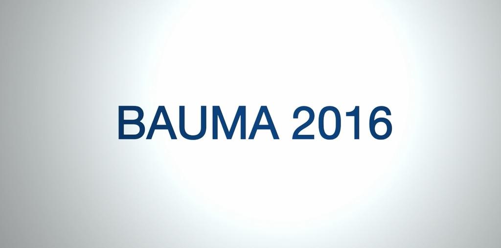 Bauma 2016 Video- Cementation Skanska SR-75 Drilling Rig