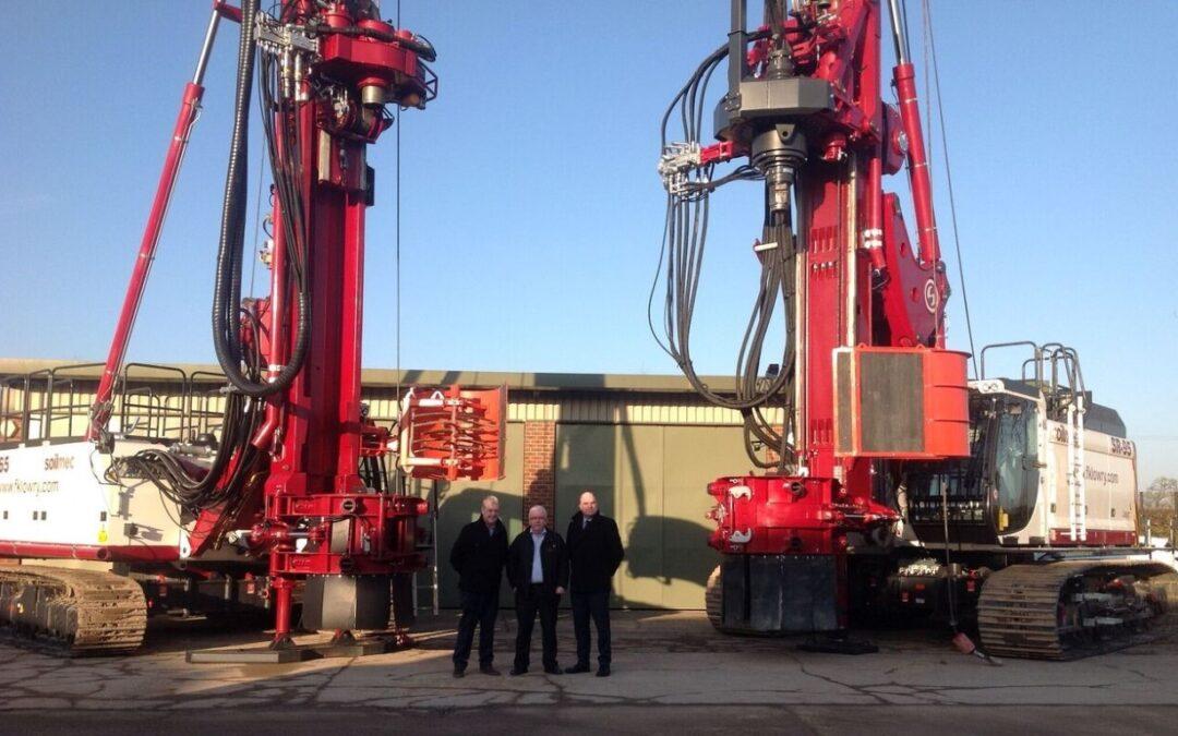 Lagan Construction Group Ltd Collect New SR-95 Drill Rig
