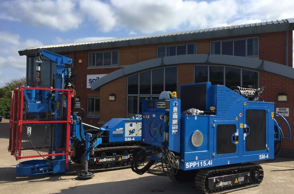 New SM-4 SFA Mini Piling Rig for Cannon Piling Ltd