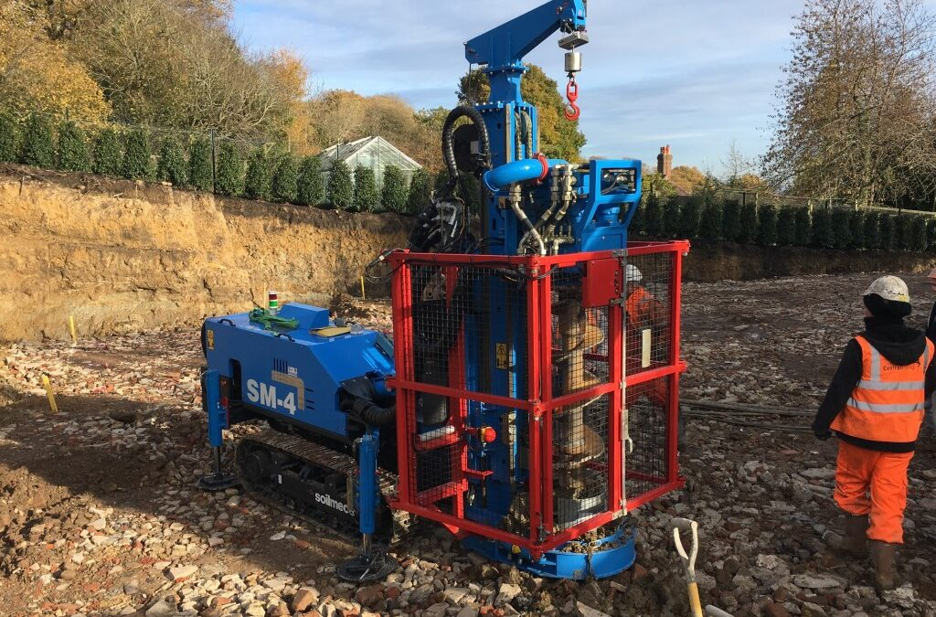 Central Piling Take Delivery of a New SM-4 Mini Pile Rig