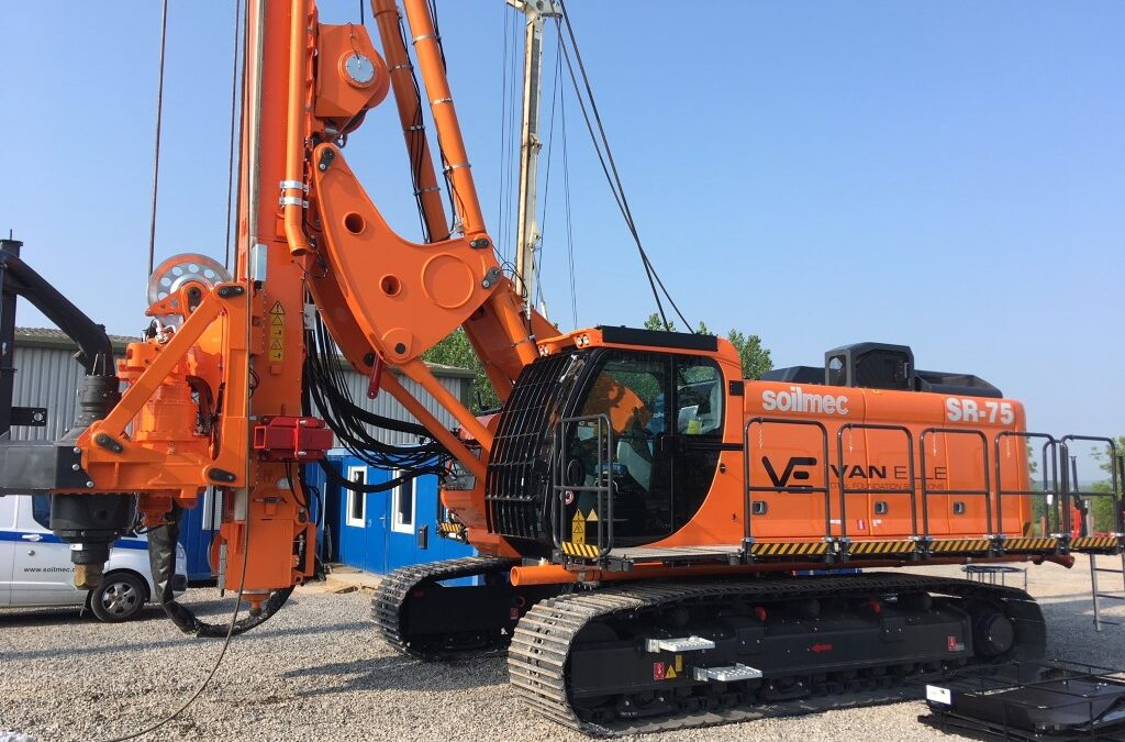 New SR-75 drill rig for the Van Elle fleet