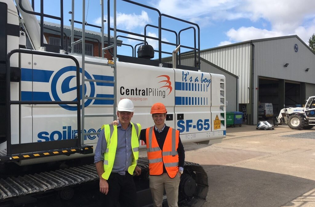 It's A Boy! New SF-65 Drill Rig for Central Piling Ltd