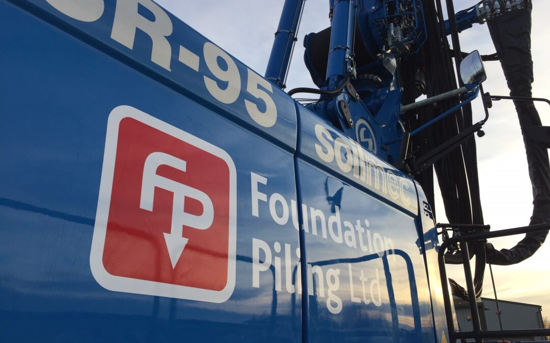New Year, New Rig! SR-95 Drilling Rig Ready for Foundation Piling Ltd