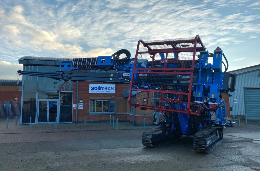 The Brand New SM-15 Micro Drilling Rig